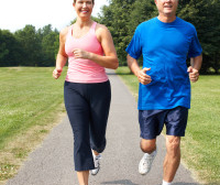 Man and Woman Jogging | Heart Health