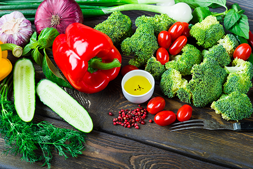 photo of fresh organic vegetables | Johns Creek Family Medicine