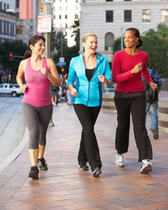 photo of 3 women power walking | Johns Creek Family Medicine