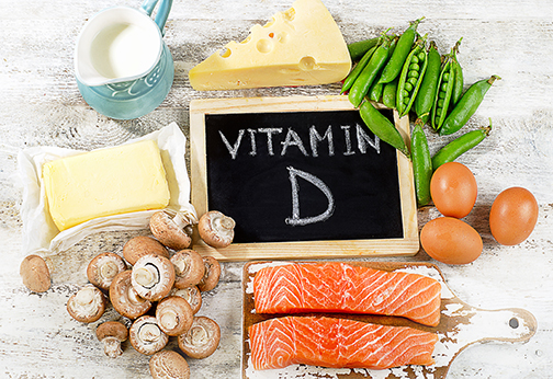 photo of foods rich in vitamin D | Johns Creek Family Medicine