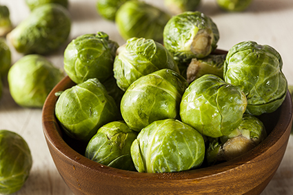 photo of organic green brussel sprouts | Johns Creek Family Medicine